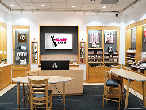 Merle Norman Cosmetics Franchise Interior