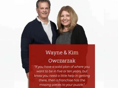 Mr. Handyman Franchisees Wayne & Kim Owczarzak
