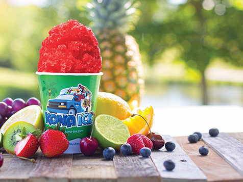 Gourmet Shaved Ice from a Kona Ice Franchise