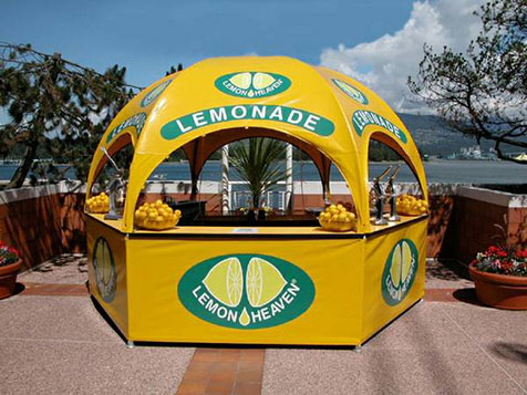 Lemon Heaven International, Inc. Franchise Tent