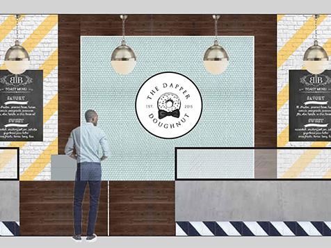 The Dapper Doughnut Franchise Rendering