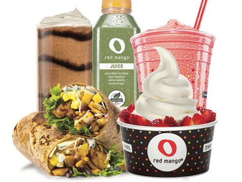 Red Mango Franchise Menu Items