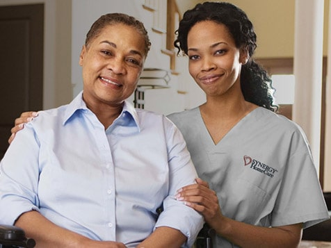 SYNERGY HomeCare franchise allows people to age in home