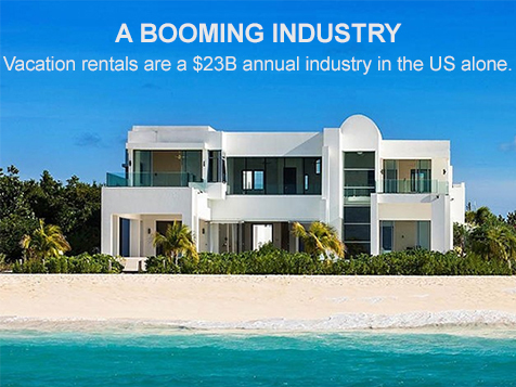 Vacation rental and property management industries are booming
