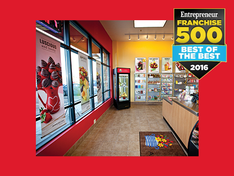 Edible Arrangements Food Franchise Interior