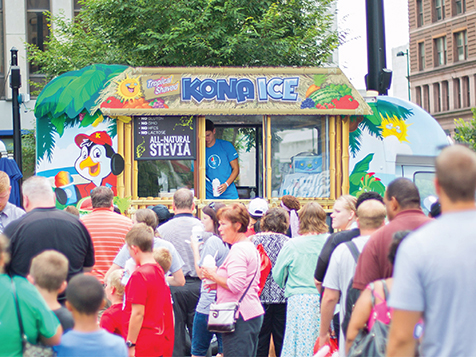 Kona Ice Franchise Event