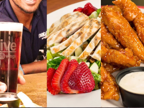 Native Grill & Wings Franchise Food Offerings