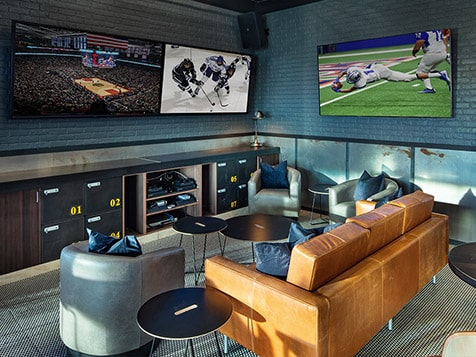 Buffalo Wild Wings Franchise VIP space