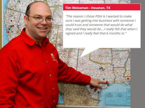 Tim Weissman, Houston, TX - Fish Window Cleaning Franchisee