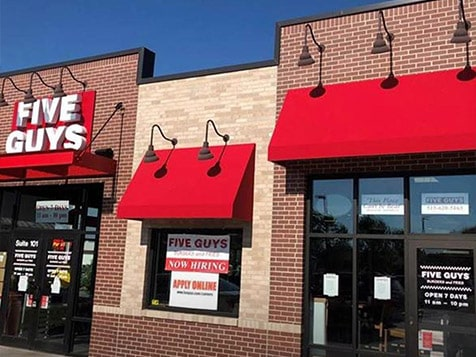 Five Guys Burgers and Fries New Location