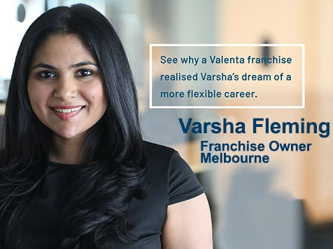 Valenta Franchise Owner, Varsha Fleming