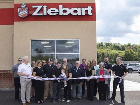 Ziebart Automotive Franchise - ribbon ceremony