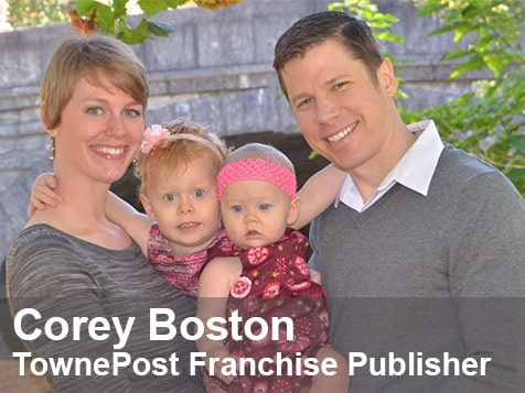 Towne Post Network Franchisee, Corey Boston