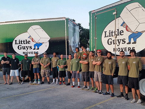 Little Guys Movers Franchise Employees