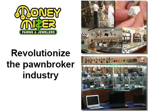 The Money Mizer Franchise has specialty niche money services