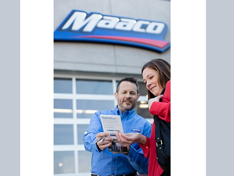MAACO Franchise Customer