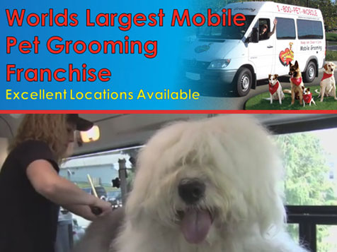Join the Aussie Pet Mobile Franchise - The Largest mobile pet grooming franchise