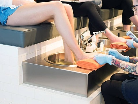 THE TEN SPOT Franchise Pedicure