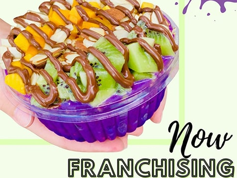 Join Bowl Boss Acai Franchise - part of the health food industry