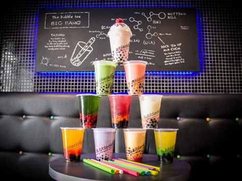Bubbleology Franchise Menu Items
