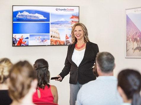 Training at Expedia Cruises Franchise