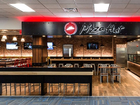 Pizza Hut Franchise - airport