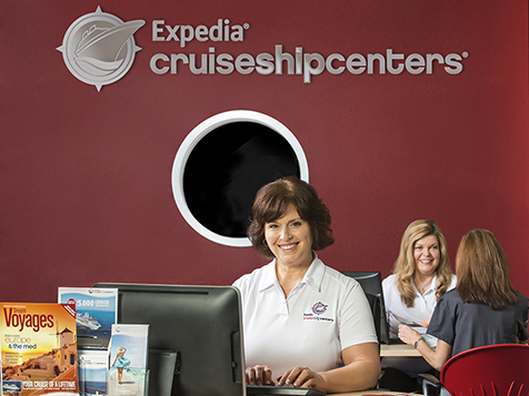 Inside an Expedia Cruise Ship Centers Franchise