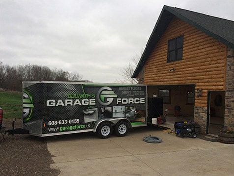 Garage Force Franchise - equipment trailer