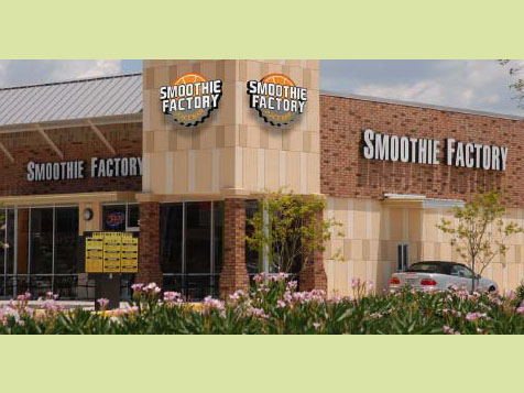 Smoothie Factory Exterior