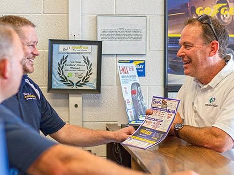 Town Money Saver Franchise Customer
