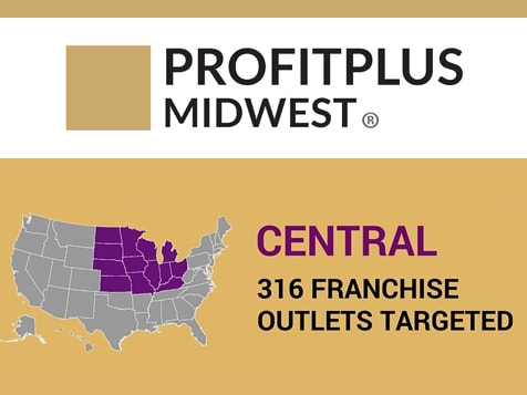 ProfitPlus Midwest Franchise Territory