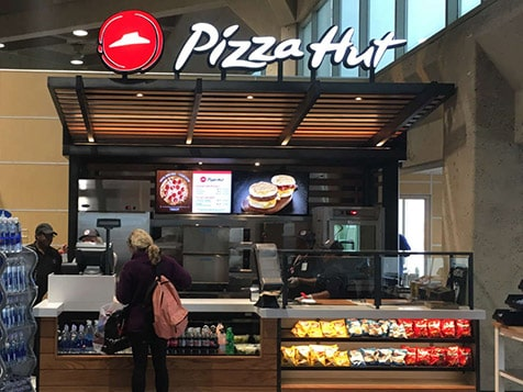 Pizza Hut Franchise Kiosk