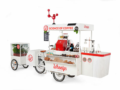 Wheelys Cafe: a business on a bike!