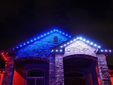 JellyFish Lighting - Example of Forth of July Lighting