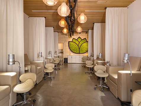 Private Stations in a Namaste Nail Sanctuary