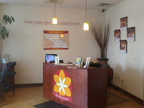 Zen Massage Franchise Front Desk