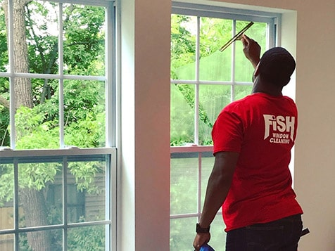 Fish Window Cleaning Franchise - a simple system to follow