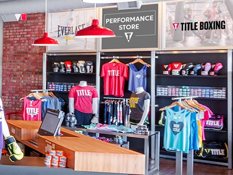 TITLE Boxing Club Franchise Retail Items