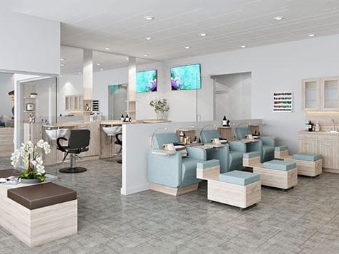 Sirius Day Spa Franchise Design