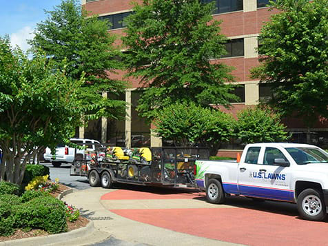 U.S. Lawns Franchise Office Park Landscaping