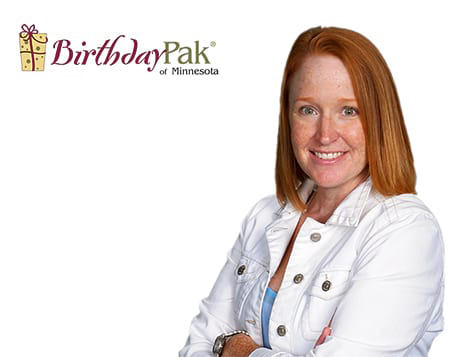 BirthdayPak Franchise Owner Betsy Pierre of MN