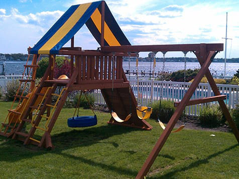 Superior Play Systems Franchise Play Set Installation