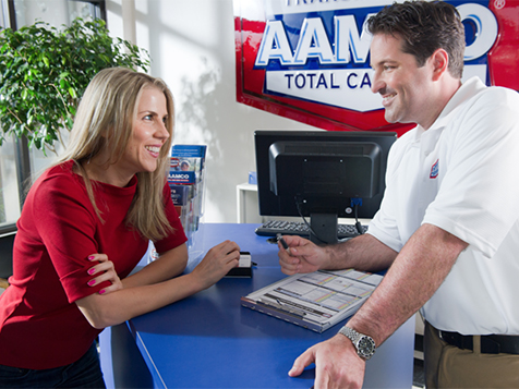 Inside an AAMCO Franchise