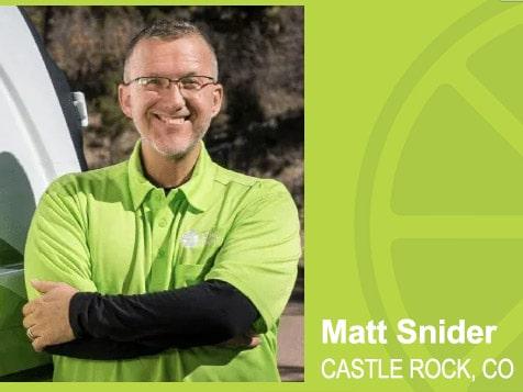 LIME Painting Franchisee Matt Snider, Castle Rock, CO
