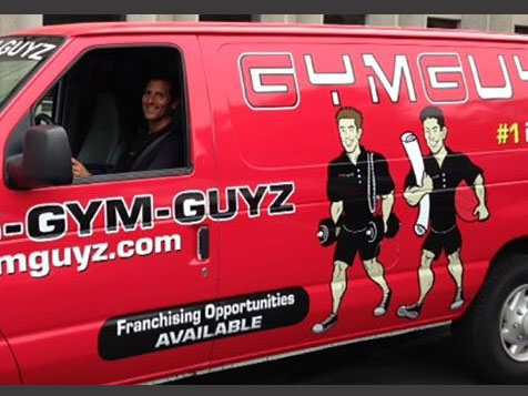 GYMGUYZ ranked in the Top 10 by Entrepreneur Magazine