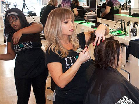 Moxie Blowdry & Beauty Bar Franchise Stylists