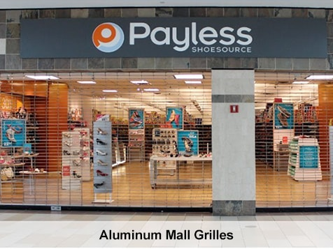 Pro-Lift Garage Doors Franchise - Aluminum Grills at Mall