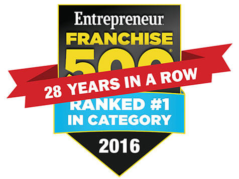 Chem-Dry Carpet Cleaning Ranked #1 in Franchise 500