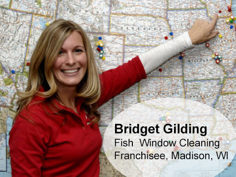 Bridget Gilding, Madison, WI - Fish Franchisee