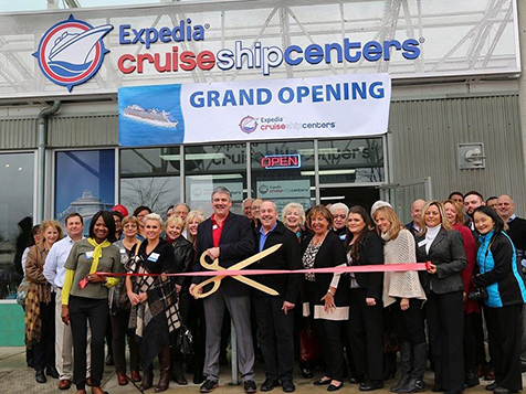 Expedia Cruise Ship Centers Franchise Grand Opening